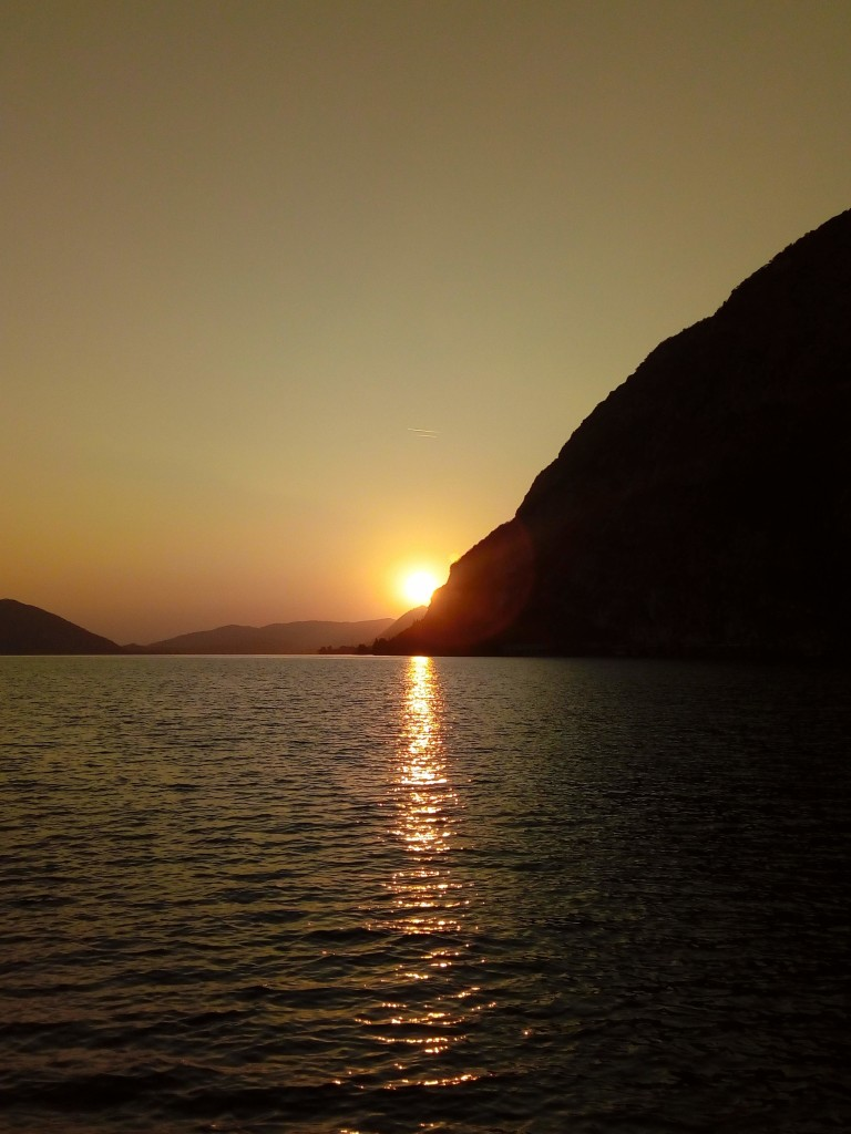 Tramonto a Monte Isola
