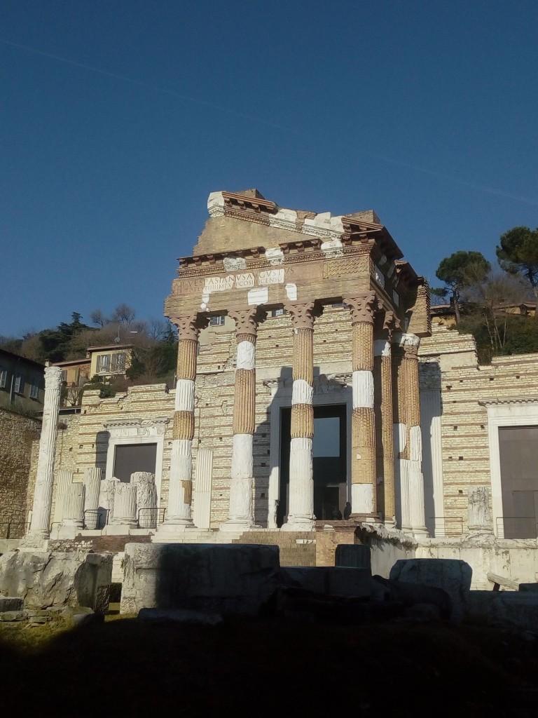 Capitolium I sec dc - Piazza del Foro