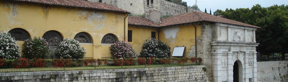 Veduta del Castello di Brescia
