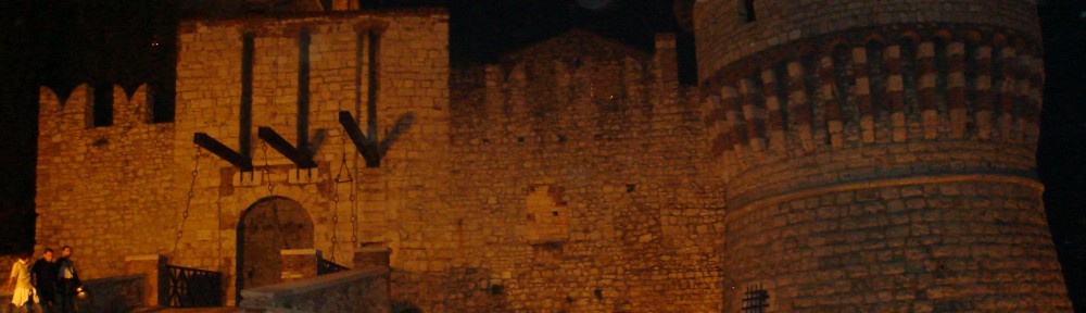 Castello di Brescia, ponte levatoio e torre dei Prigionieri